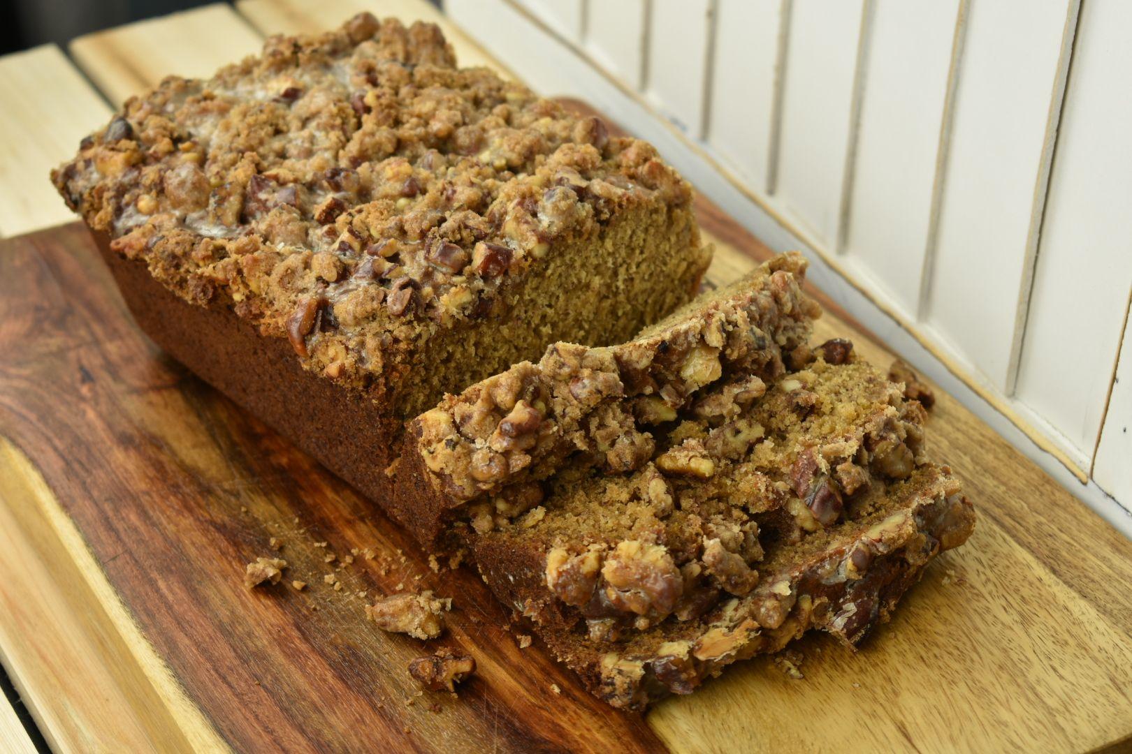 recipe: banana bread with rum glaze [33]