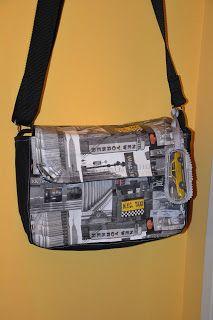 CheRRy's World: Messenger Bag New York