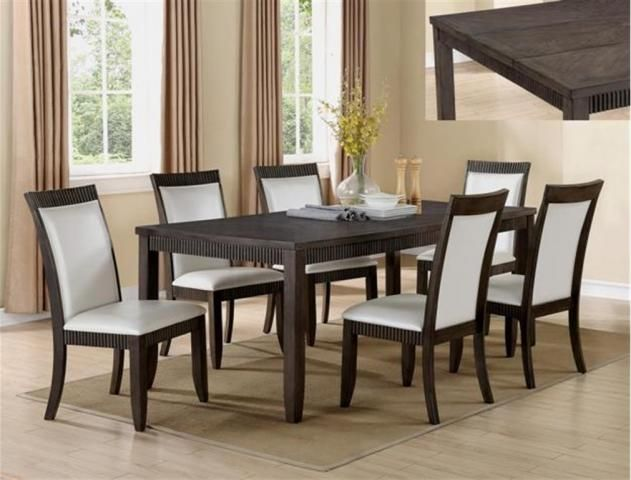 Ariana 5 Piece Dinette Table And 4 Chairs 79900 42 X 6078 Wood Dining TablesDining Room