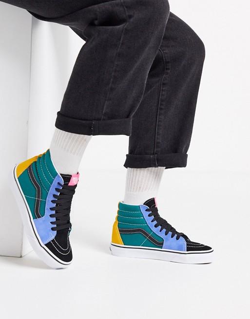 Vans SK8-Hi Mix and Match sneakers in