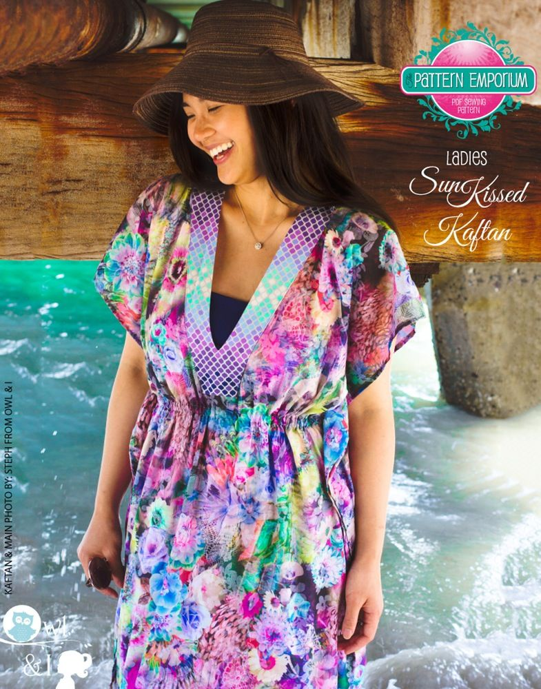 Image of Women\'s SunKissed Kaftan PDF Sewing Pattern | The sewing ...