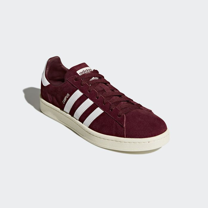 Campus Shoes Burgundy Mens in 2019 | Products | Adidas