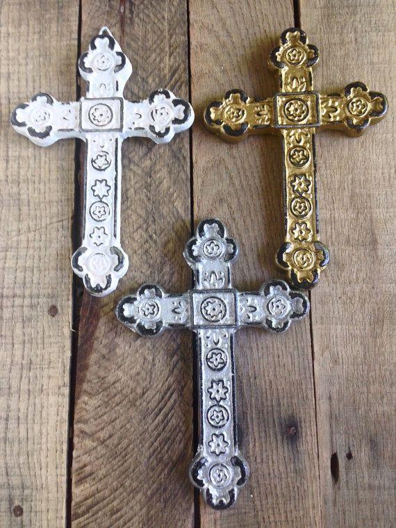 Set of 3 Decorative Crosses - Wall Cross - Christian Home Decor ...