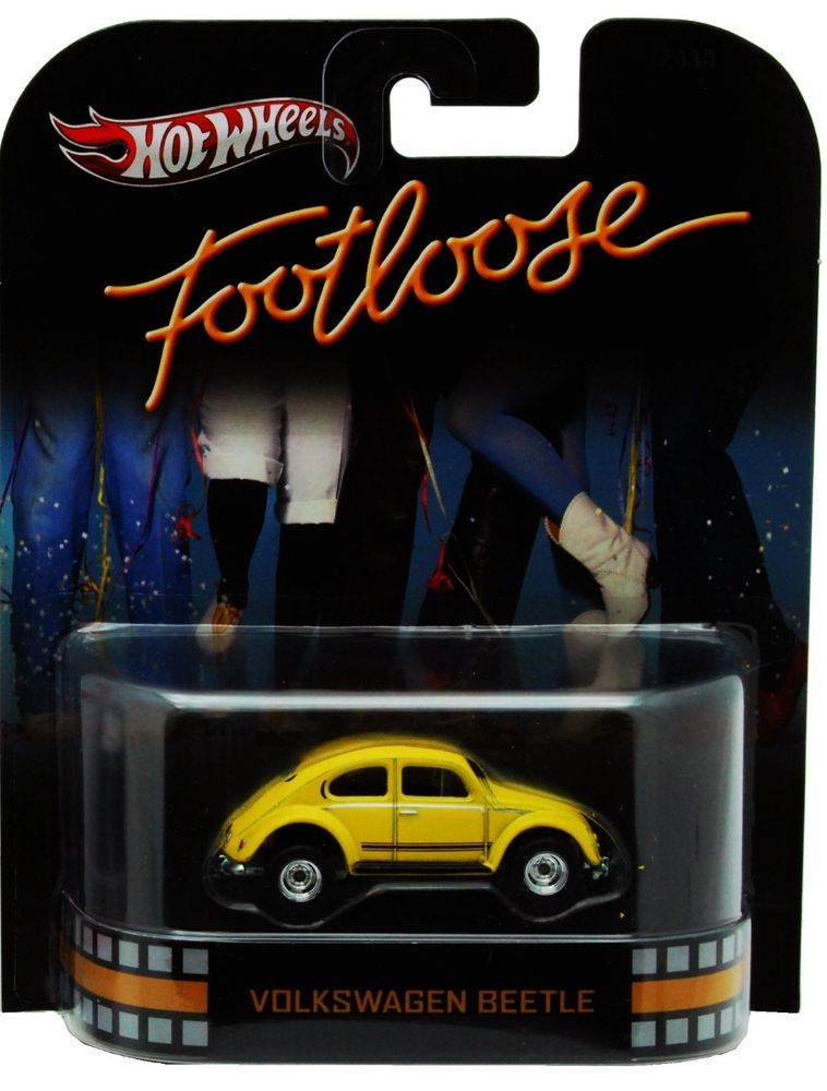 tw5 hot wheels volkswagen beetle footloose yellow car. Black Bedroom Furniture Sets. Home Design Ideas