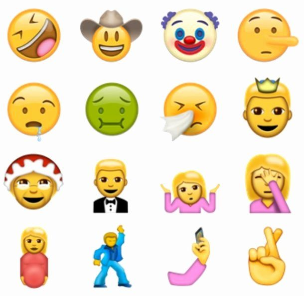 Funny Emoji Copy And Paste Best Of How To Use 72 New Emoji Icons Right Now From Unicode 9 In 2020 Funny Emoji Free Emoji Emoji