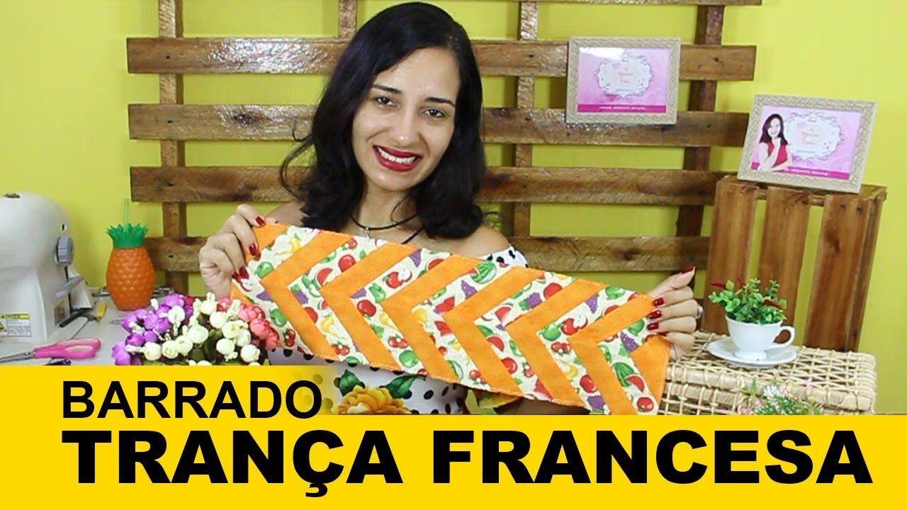 d070dc86e2a20d Barrado Trança Francesa I Seminole I A Menina do Pano | Pano de Copa ...
