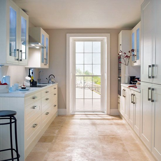 Galley Kitchen Ideas That Work For Rooms Of All Sizes  Glazed Simple Gallery Kitchen Design Decorating Inspiration