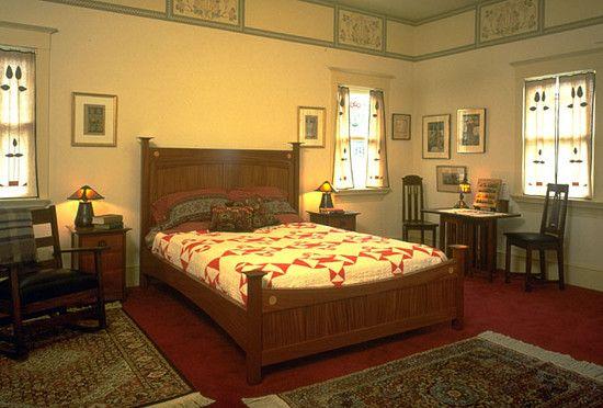 Bedroom Bedroom Bungalow Arts Crafts Design, | Arts & Crafts ...