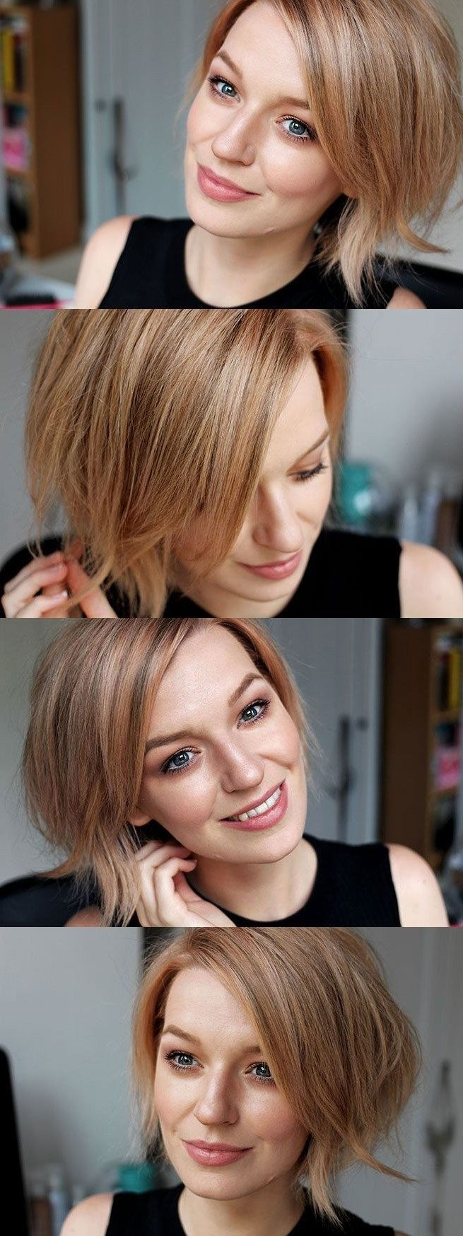 45 Rose Gold Hair Color Ideas for Short Haircuts This Year