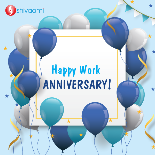 Happy Work Anniversary | Work anniversary, Work anniversary quotes, Anniversary