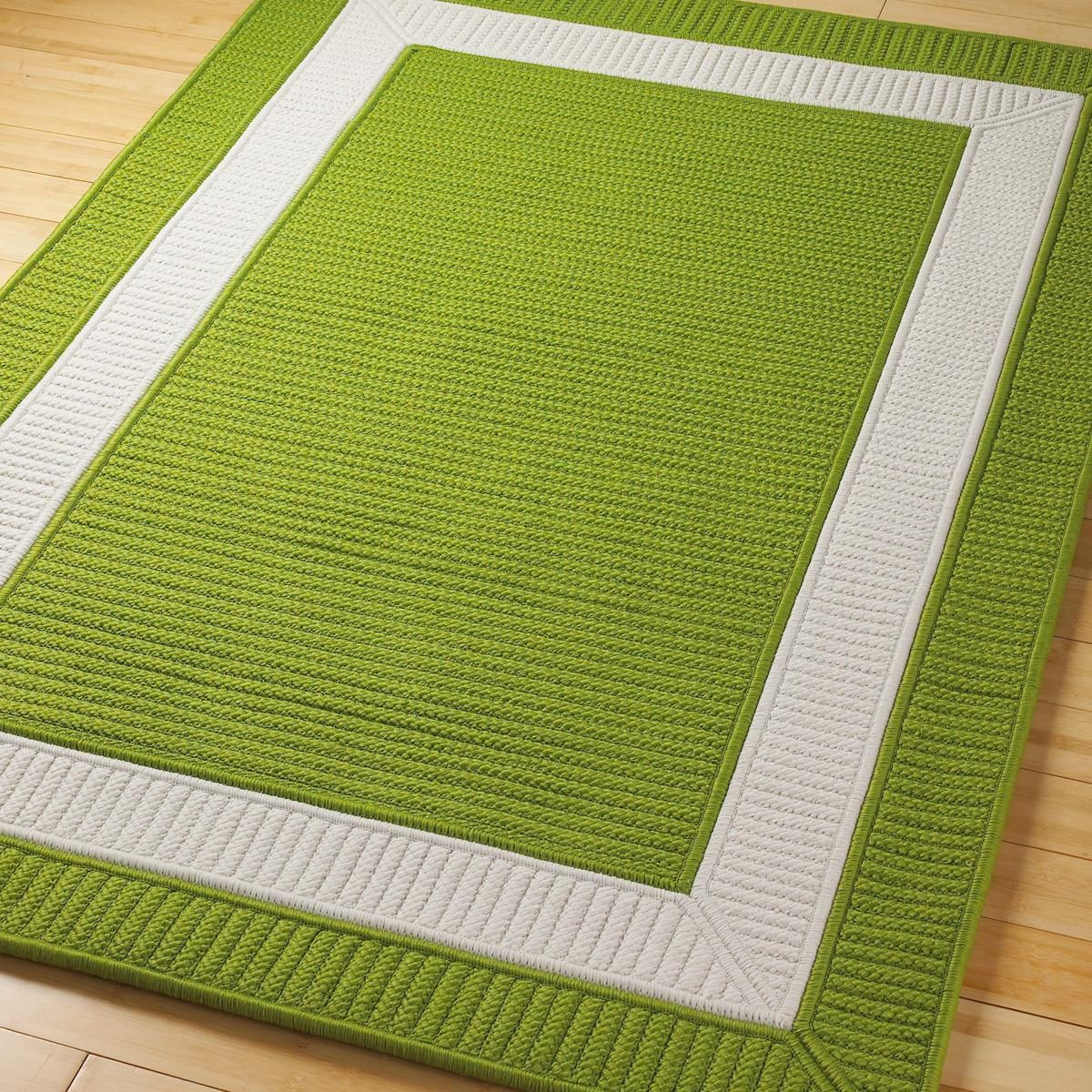 Border Braided Indoor Outdoor Rug In12 Colors