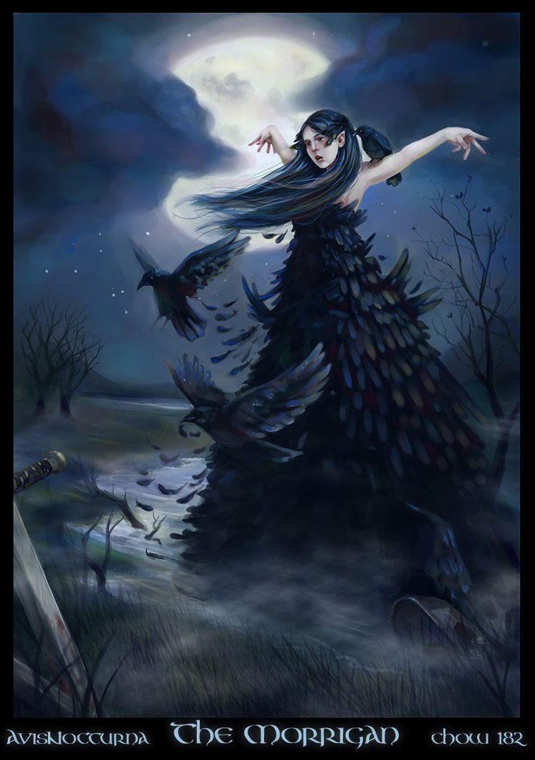 The Morrigan Celtic Goddess Celtic Gods Celtic