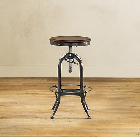 Sensational Round Up Industrial Style Backless Drafting Stools Caraccident5 Cool Chair Designs And Ideas Caraccident5Info