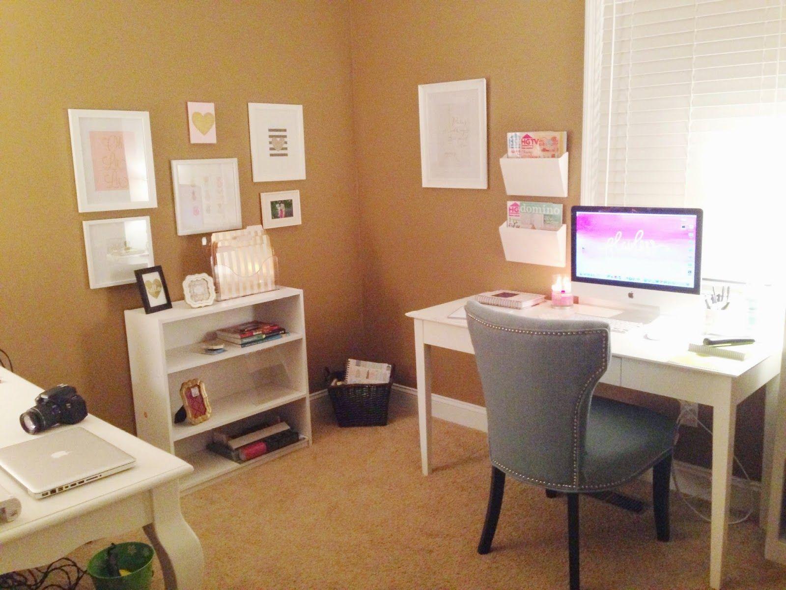 Southern Belle Inspired : Office Progress