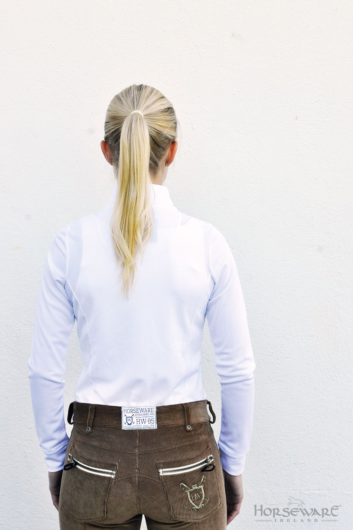 Horseware Polo Collection A W15 Elena Long Sleeve