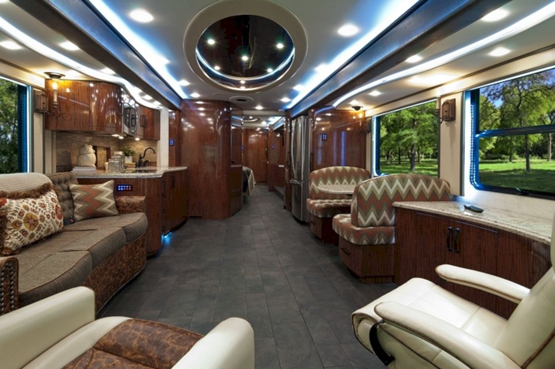 Top 25 Luxurious Rvs Interior For Nice Trip On Summer 2018