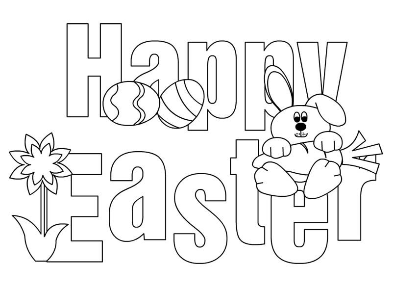 Happy Easter Coloring Pages 2018 Easter Egg Easter Bunny Jesus Coloring Pages Happy Easter Printable Easter Coloring Pages Printable Easter Coloring Pages