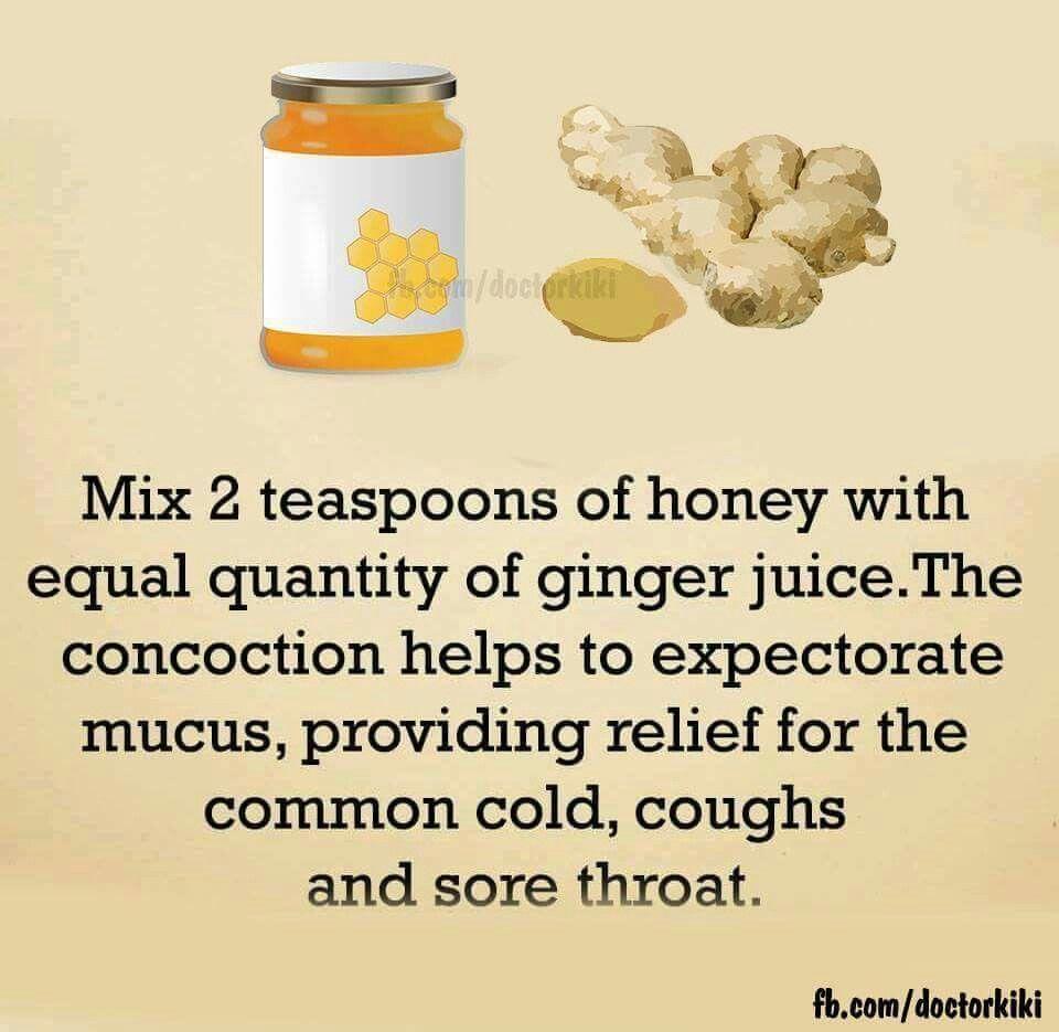 Cough cold natural expectorant sore throat natural