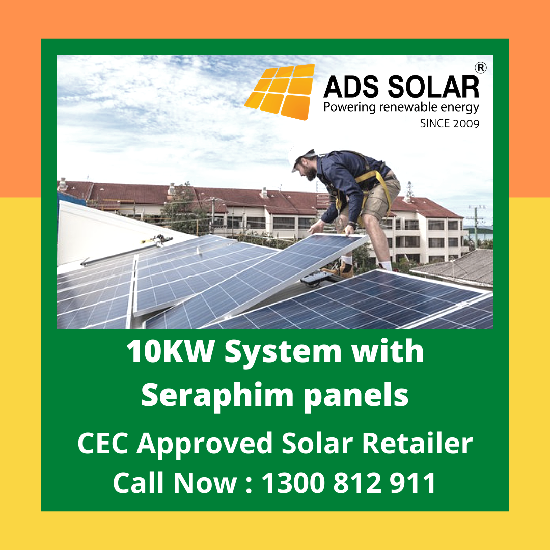 10kw System With Seraphim Panels In 2020 Solar Solar Power System Solar Power