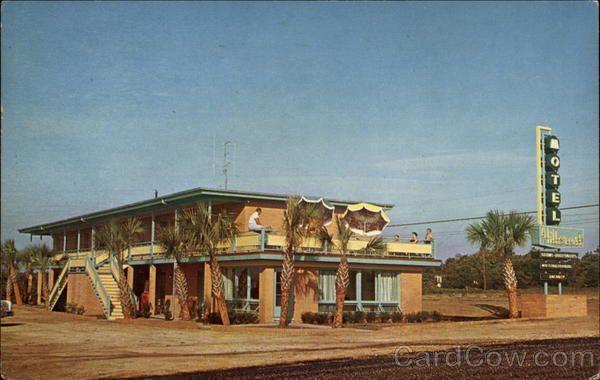 Hillcrest Motel Myrtle Beach South Carolina Myrtle Beach South Carolina Beaches