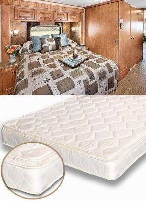 Semi Truck Mattress Innerspring 1 Inch Pillow Top 36 X 80