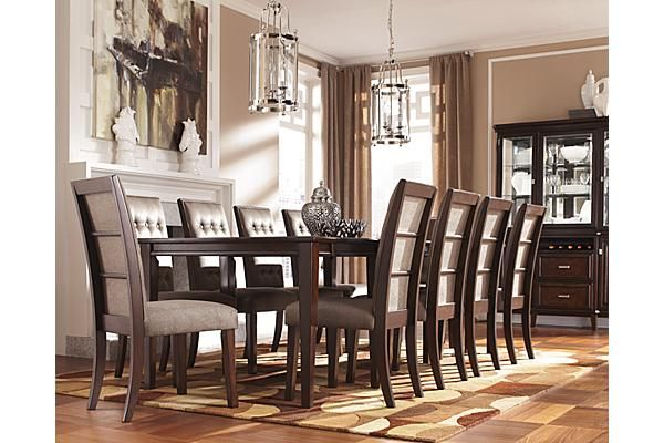 Dining Room Side Chairs Elegant Seating: The Larimer Dining Room Upholstered Side Chair From Ashley