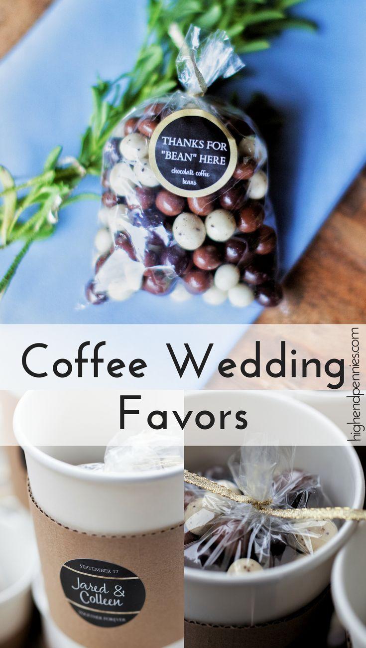 Coffee Bean Wedding Favors Coffee wedding favors, Diy