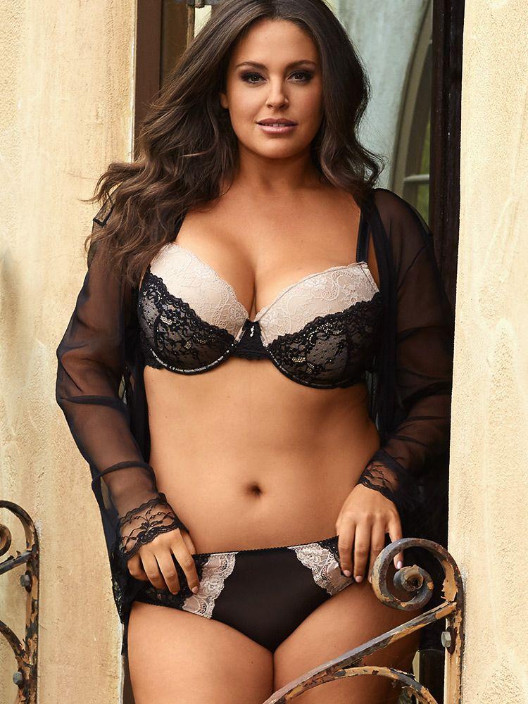 Felicia Lace Push-Up Bra | Plus-Size Bras