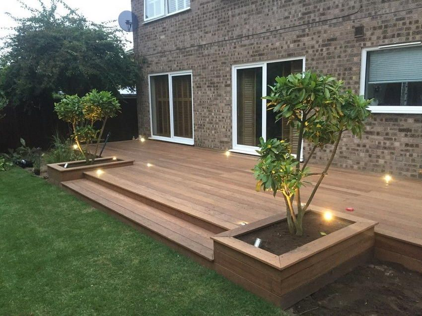 Astonishing Design Ideas For Modern Decks Modern Deck Backyard