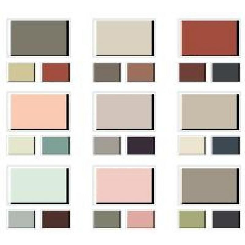Benjamin Moore Interior Color Palette