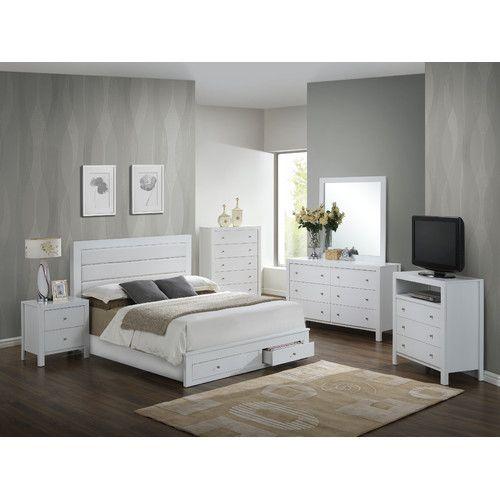 Found It At Wayfair Storage Panel Customizable Bedroom Set Bedroom Set Furniture Bedroom Sets