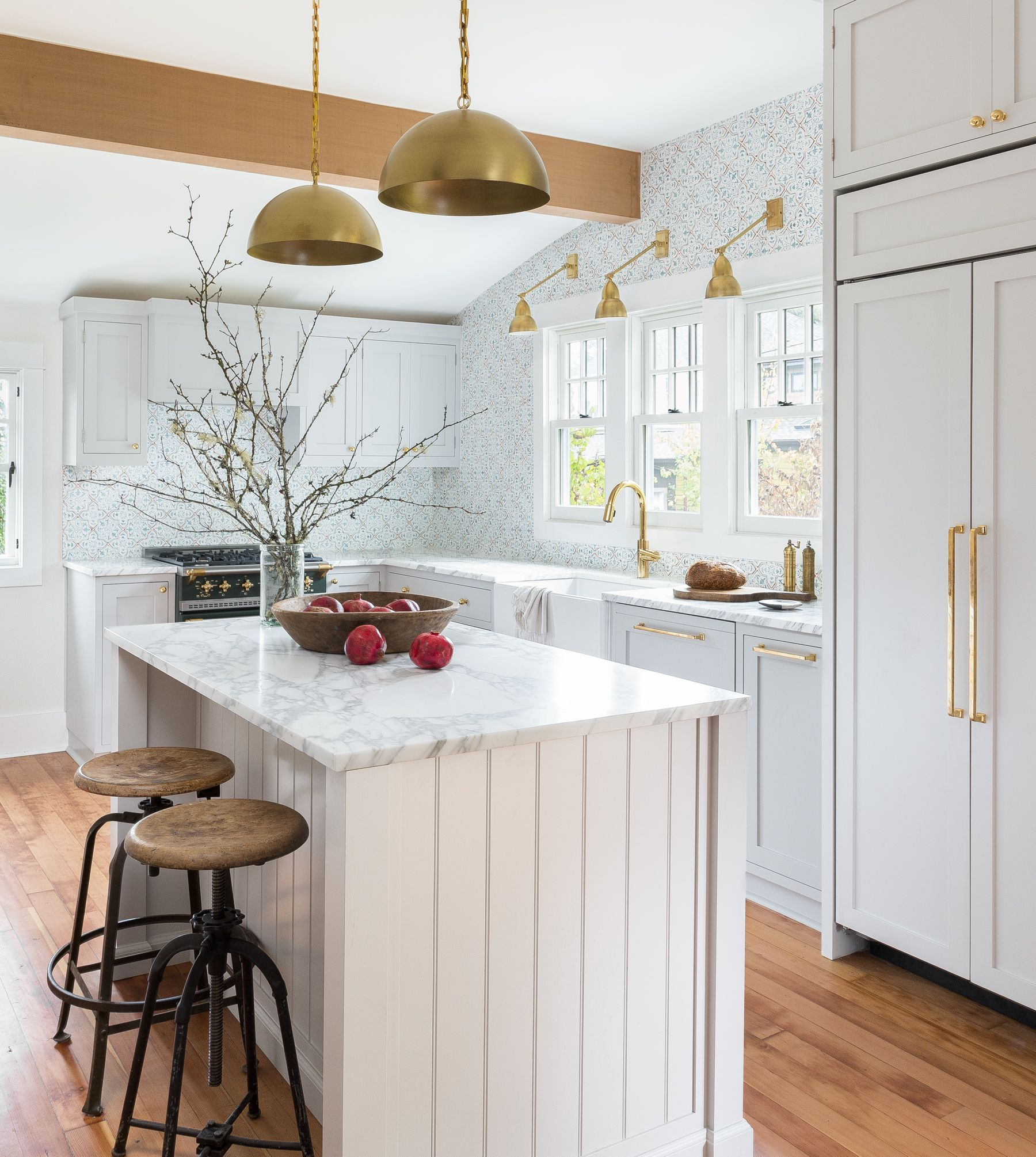 Juneau | Ceramic tile backsplash, Kitchens and Marble countertops