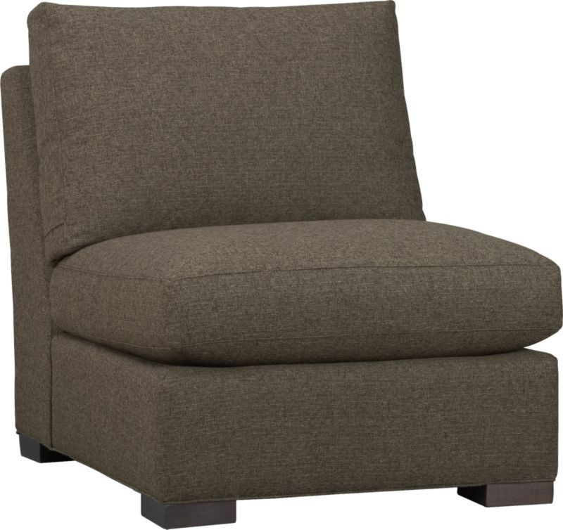 Axis Armless Sectional Chair  | Crate