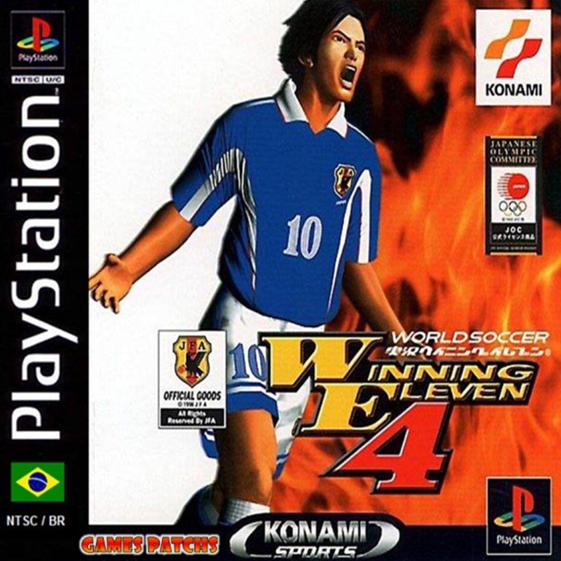 Winning Eleven 4 Playstation, Jogos de playstation, Jogos