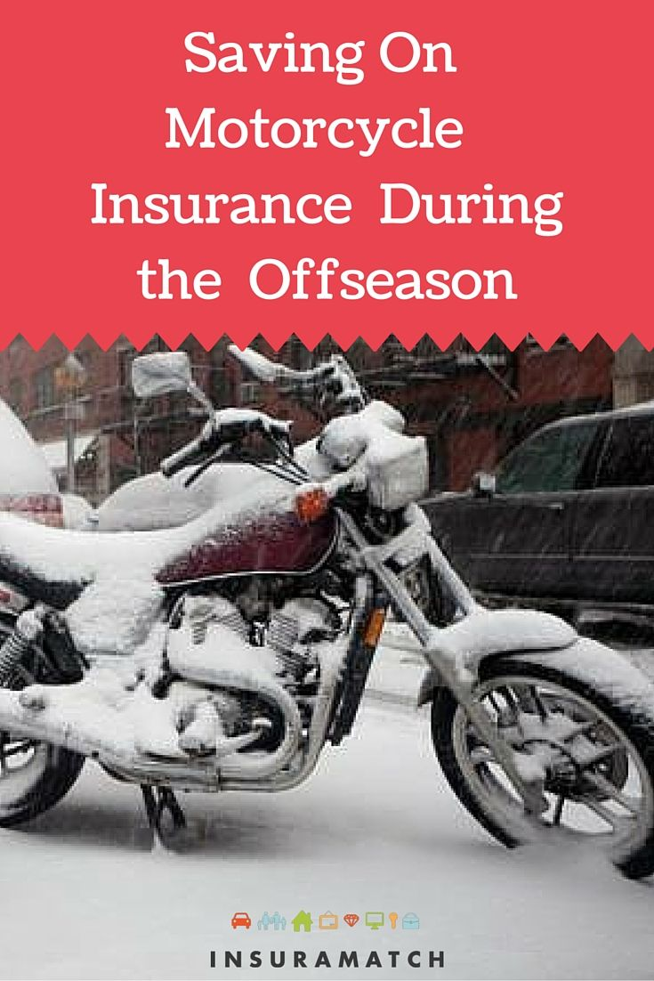 How to save on motorcycle insurance offseason motorcycle