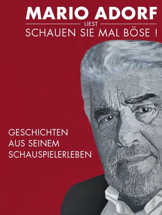 Mario Adorf Schauen Sie Mal Bose Tickets Unter Www Semmel De Mario Semmeln Lesen