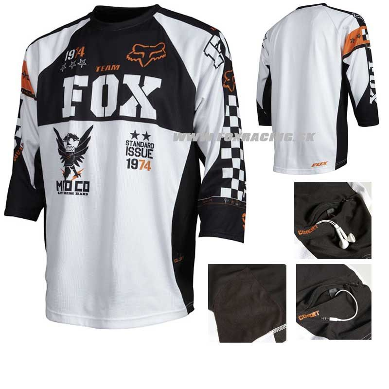 Covert Jersey #cycling #jersey #foxracing