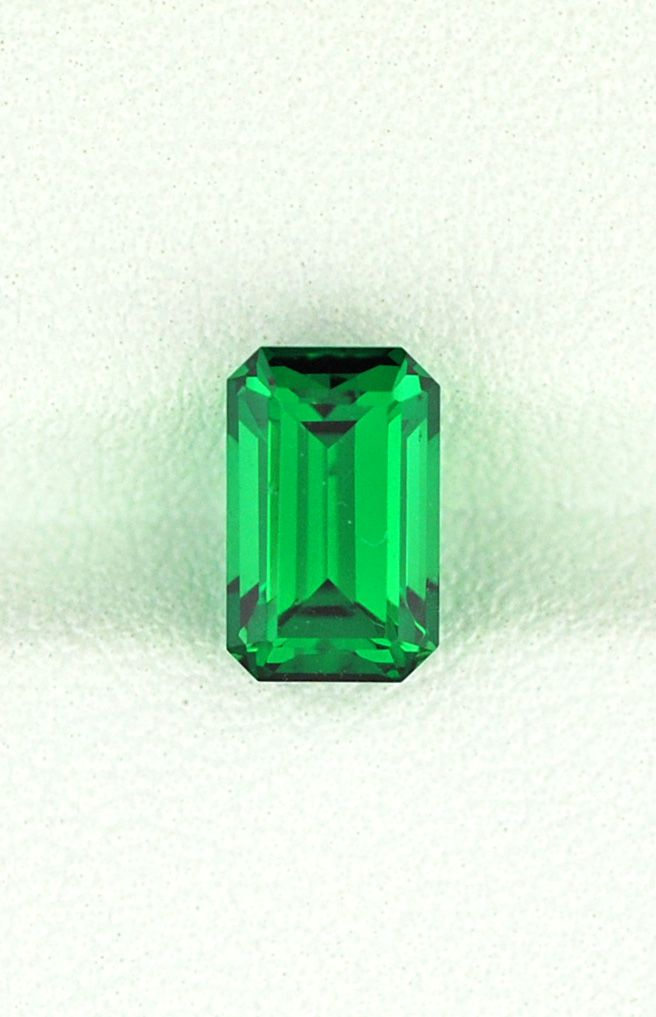 The beautiful green of Tsavorite A 2 29ct ring stone Right or