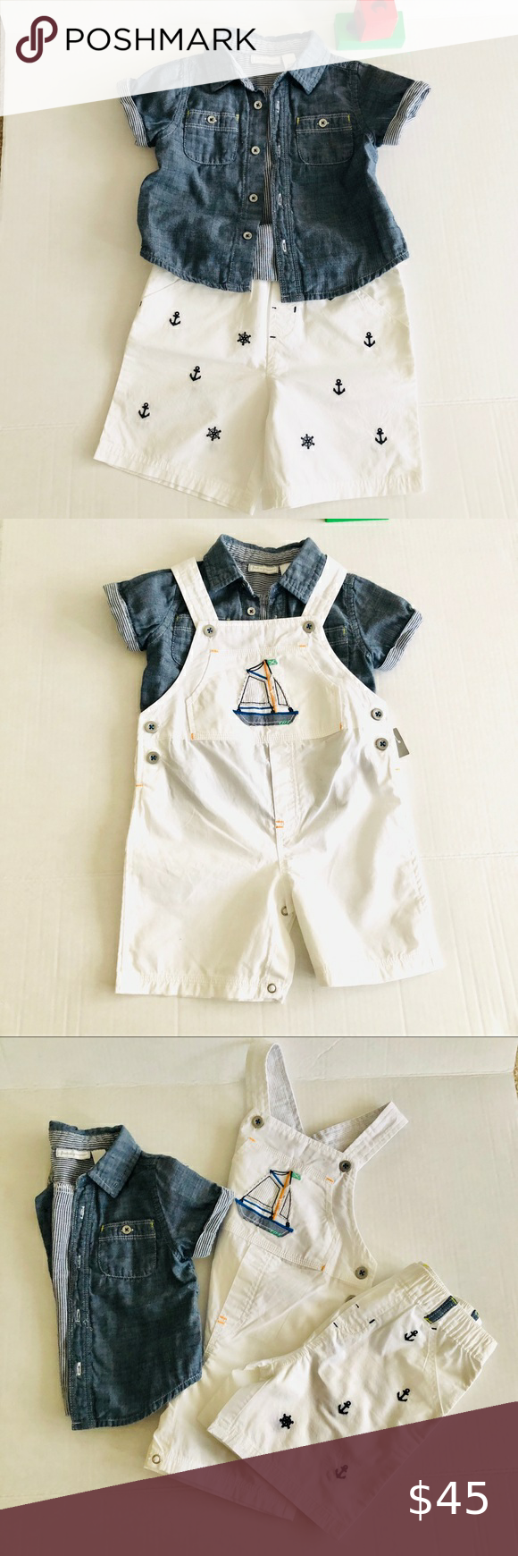 First Impression -3pc set boy outfit 24m/… First I