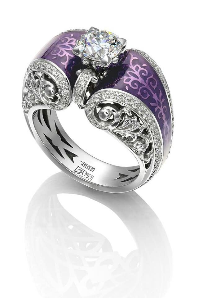 Purple Wedding Ring I Wold So Rock This Jewelry Selling