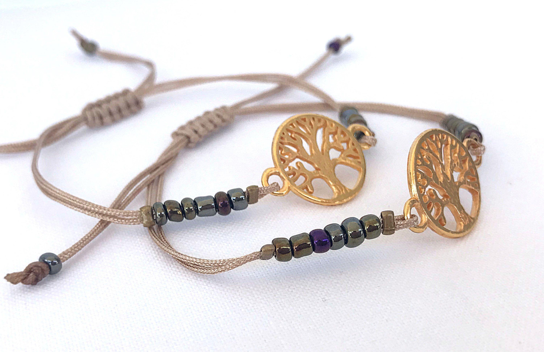 Tree Of Life Bracelets 2 Thread Charm Friends Soulmate Spiritual Gifts