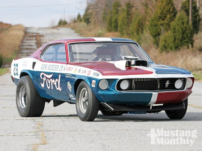 1969 Mustang Drag Car Sam S Back With Images Drag Cars