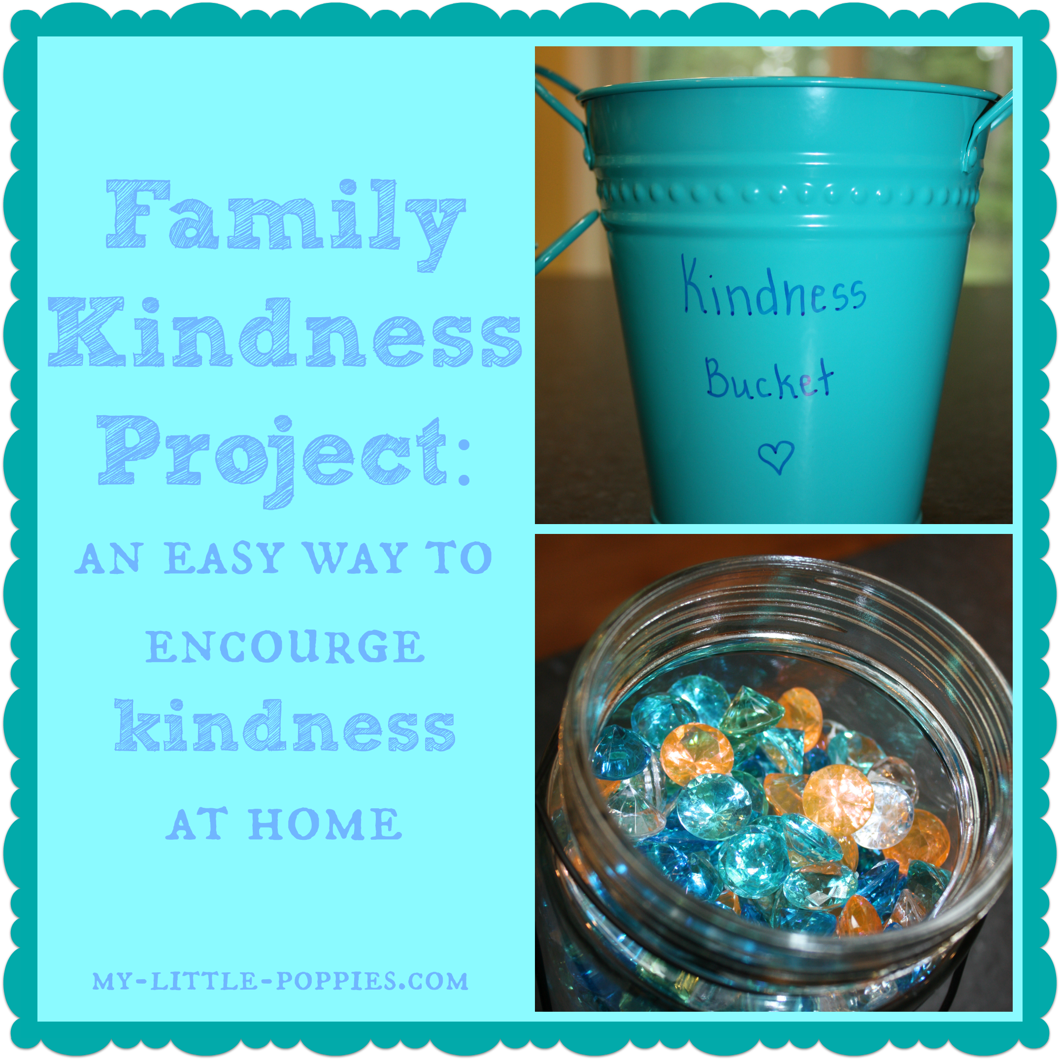 Family Kindness Project Have You Filled A Bucket Today