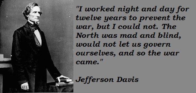Jefferson Davis Quotes 3
