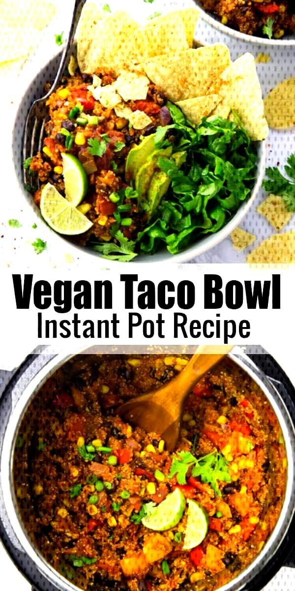 This vegan burrito bowl with quinoa makes the perfect weeknight dinner. Its super easy to make, he
