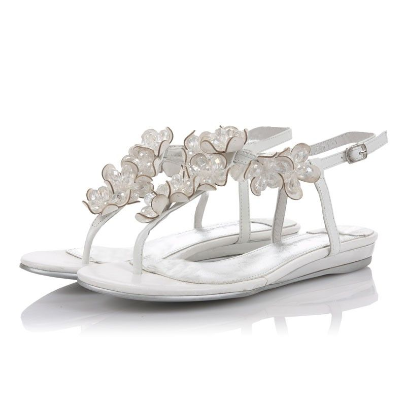 white wedding flat sandals white stylish flats summer destination beach wedding shoes sns030w