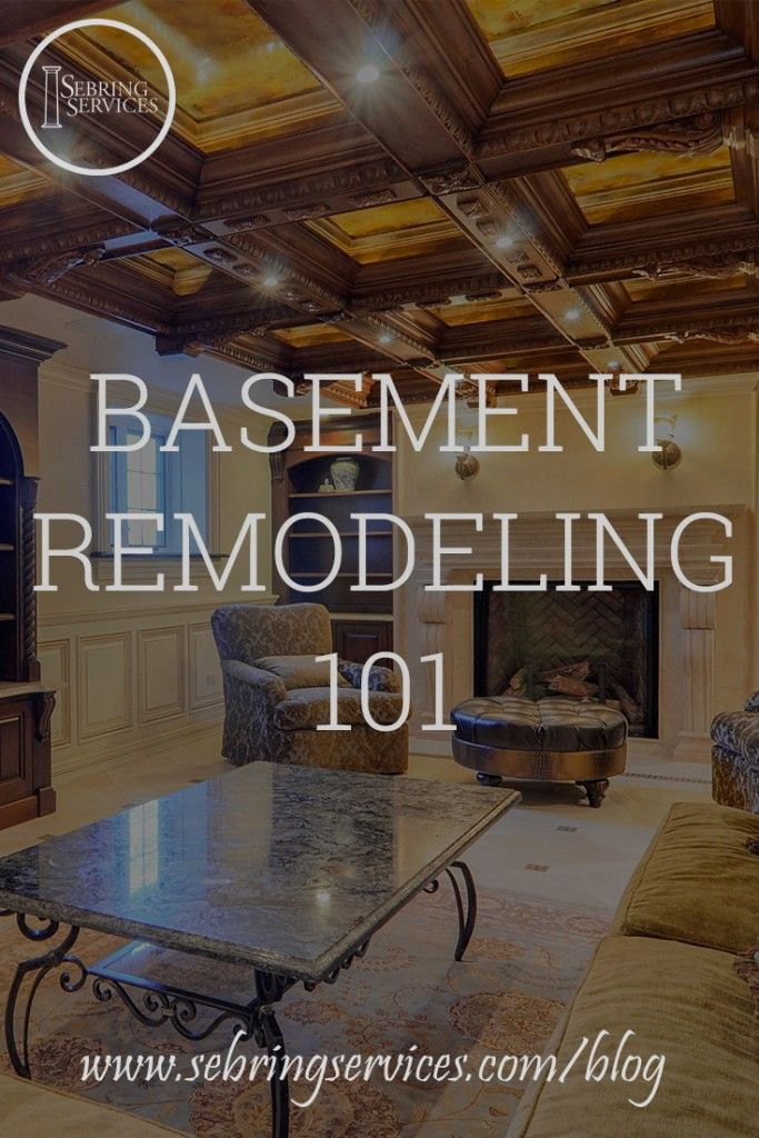 Basement Remodeling 101 Important Considerations For Your Big Project | Basement  Ideas | Pinterest | Big Project, Basements And Consideration