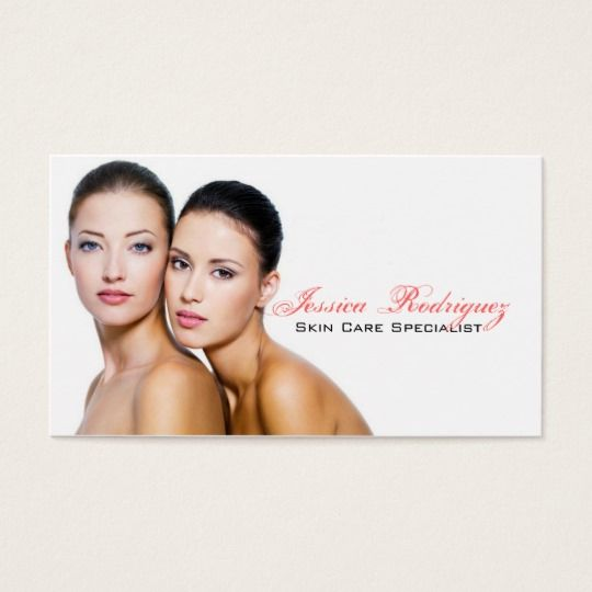 Business Beauty Skincare  >> Aesthetician Beauty Skincare Business Cards Estheticians Nail