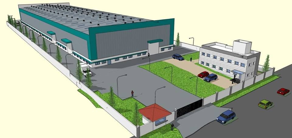 Built to Suit Industrial shed in Chakan Pune 65000 sq ft  Built up area Plot area 131000 sq ft Shed Area 61000 sq ft Office 3000 SqFt Toilet 1000 Sqft Watchman Cabin  oth...