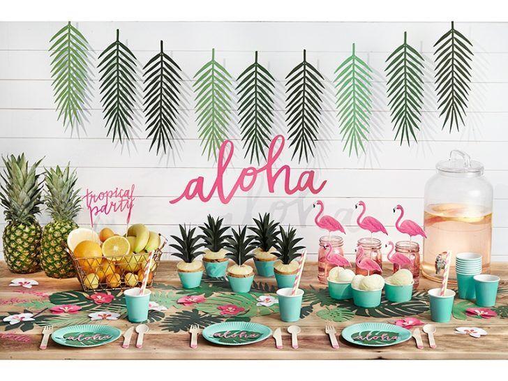 divertida fiesta tropical con aire de fiesta fiestas y cumples - Fiestas Y Cumples